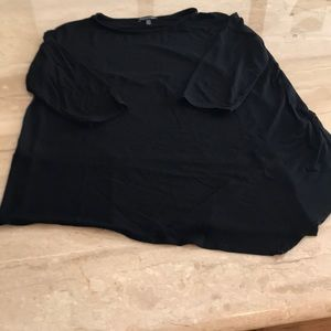 Eileen Fisher Black Top Size Small